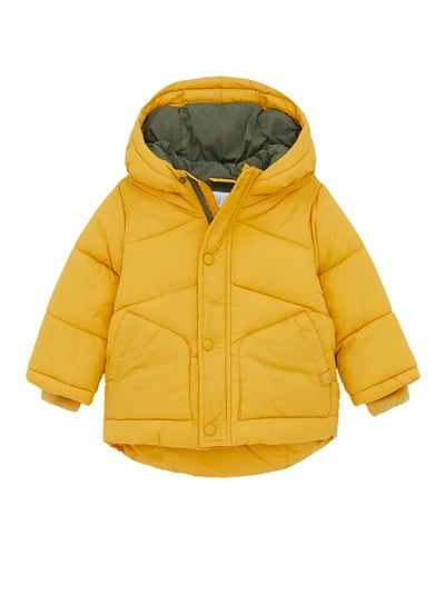Lined Puffer Jacket In 2020 Puffer Jackets Jackets Hooded Jacket