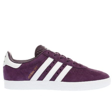 Adidas purple 350 trainers #With a heritage in basketball, the 350 ...