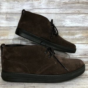 NEW Tom Ford Clarence 9M Brown Suede
