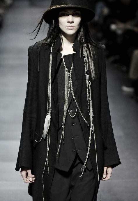 blackhallmanor:  Ann Demeulemeester Fall/Winter 2008