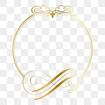 Moldura De Circulo Dourado Com Ilustracao Em Vetor Elegante Ornamento Vintage Dourado Enfeite Vintage Imagem Png E Vetor Para Download Gratuito In 2021 Ornament Frame Vintage Ornaments Artistic Frame