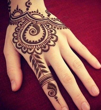 30 Best Hand Tattoo Designs With Most Stylish Ideas In 2020 Simple Henna Tattoo Henna Tattoo Designs Hand Henna