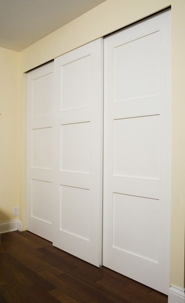 17 Best images about Garde-robe on Pinterest Closet doors, Shaker