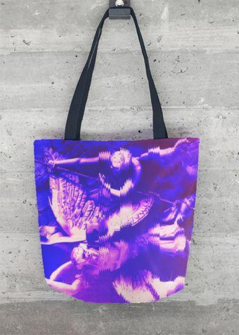 VIDA Tote Bag - Purple Nexus by VIDA 0IcPuYc1