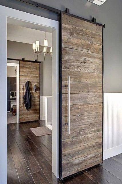 Bathroom Sliding Door Design Inspirational Best 21 Interior Sliding Doors Ideas Home Decor Rustieke Deuren Interieur Staldeuren Schuifdeuren Schuur