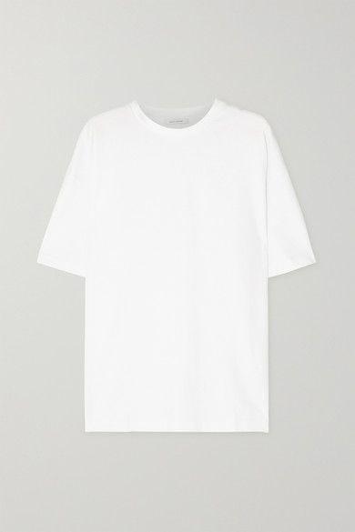 White Net Sustain Faye Oversized Organic Cotton Jersey T Shirt Ninety Percent Shirts Organic Cotton T Shirt Png