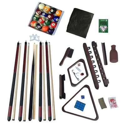 Fischer Pool Table Recovering Kit Rail Set And Bed Cloth