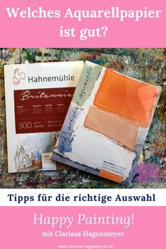 Welches Aquarellpapier Ist Gut Materialien Zum Illustrieren