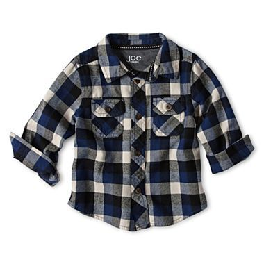 38e00bd0 Joe Fresh™ Flannel Shirt - Boys 3m-24m - jcpenney | Baby Boy Clothes ...