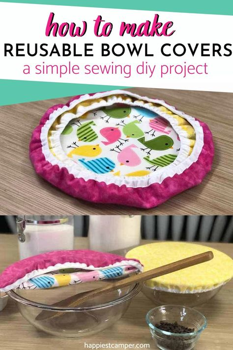 How To Make Reusable Bowl Covers