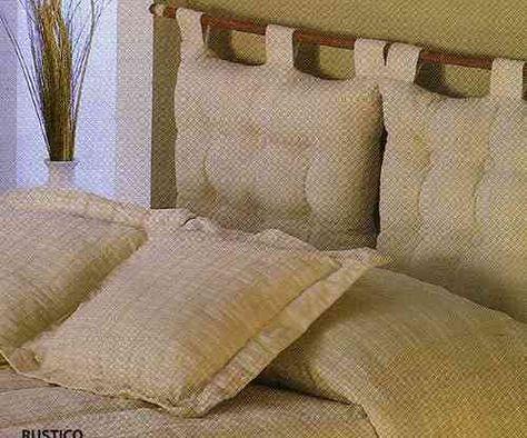 Respaldo de cama con almohadones en iManualidades.com: manualidades y bricolage
