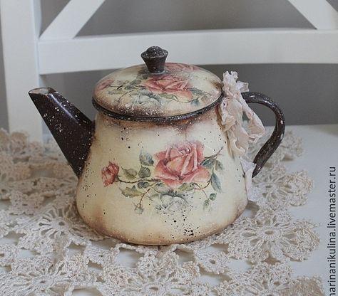 talla peque/ña Tetera de porcelana color marfil Egan