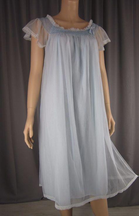 Sheer Chiffon Nightgowns