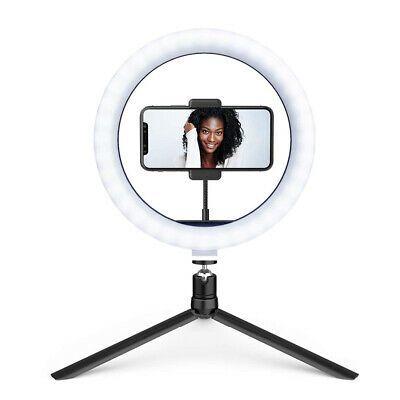 10 2 Inch Led Selfie Ring Light Dimmable Desktop Phone Photo Video Usb M Best Ebay In 2020 Led Selfie Ring Light Selfie Ring Light Video Lighting