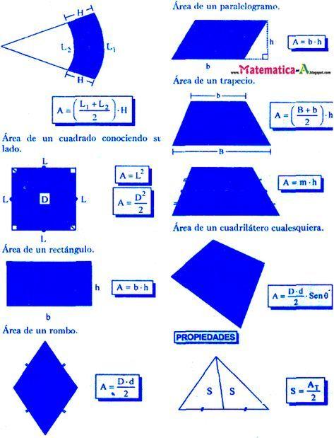 Matematicas Problemas Resueltos Areas De Regiones Sombreadas