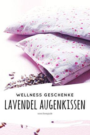 Diy Weihnachtsgeschenk Savasana Lavendel Augenkissen Augenkissen Wellness Geschenke Geschenke
