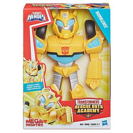 Playskool Heroes Mega mighties Transformers Rescue Bots academy Hot Shot