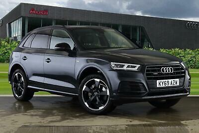 2019 Audi Q5 Black Edition 40 Tdi Quattro 190 Ps S Tronic Diesel Grey Semi Auto Ebay Black Audi Dream Cars Audi Audi Car Models