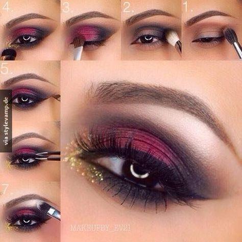 Das perfekte Weihnachts- & Silvester-Make-Up!! *__*
