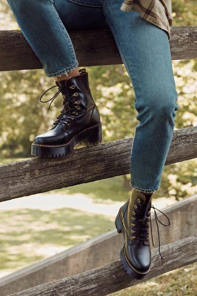 Dr. Martens Leona Temperley Boot   Boots, Combat boots, Shoes