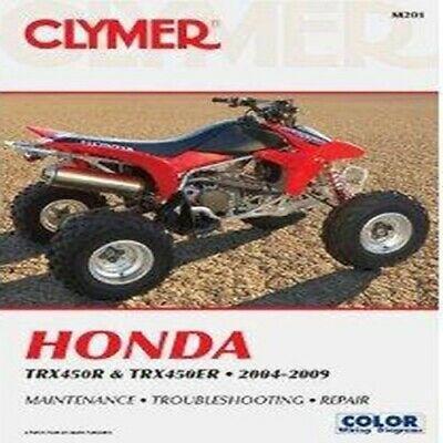 Sponsored Ebay Clymer Honda Manual Trx450r Trx450er 2004 2009 Atv Repair Maintenance M201 In 2020 Clymer Repair Manuals Honda