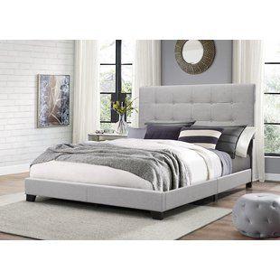 Beds You Ll Love Wayfair Grey Upholstered Bed Upholstered