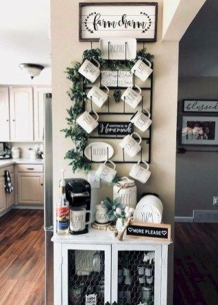 Small Apartment Decorating Ideas24 Coffee Bar Home Small