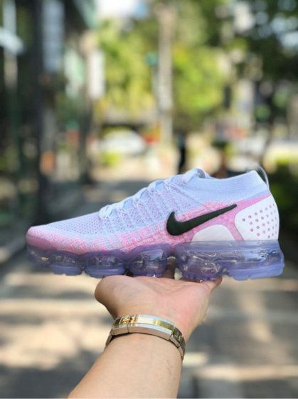 huge selection of db795 676ec Nike Air Vapormax Flyknit 2 0 Wos Shoe Hydrogen Blue Pink ...