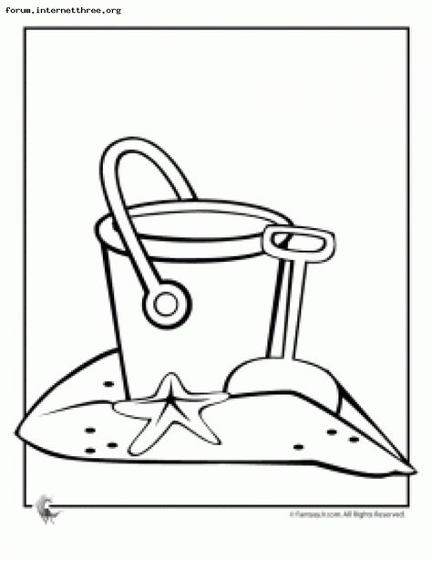 Beach Color Page Beach Coloring Pages Spring Coloring Pages