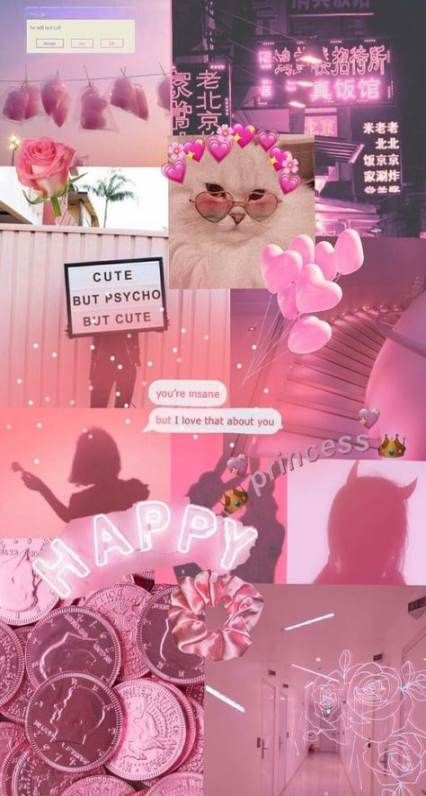 33 Ideas Wall Paper Iphone Cute Tumblr Pink Wall Poster Bunga