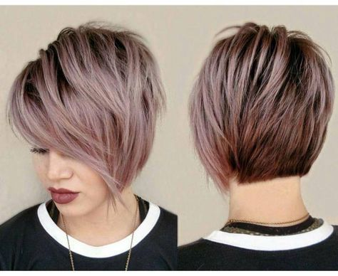 28 Short Haircut Color Ideas For 2019 Here Are 28 Short Haircuts And Color Ideas For 2019 These Haircuts That Short Hair Styles Hair Styles Curly Hair Styles