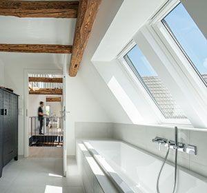 Dachausbau Ideen Fur Badezimmer Velux Dachfenster Dachausbau Ideen Dachfenster Dachausbau