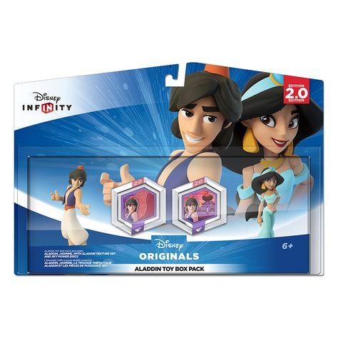 NEW Disney Infinity (2.0 Edition): Aladdin Toy Box Pack - 2000 points