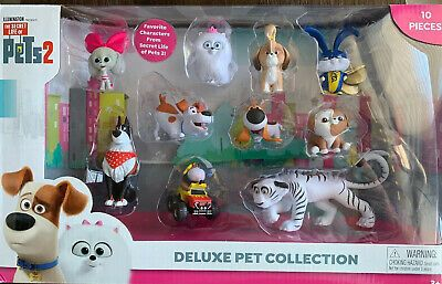 Secret Life Of Pets 2 Deluxe Pet Collection 10 Character Pieces