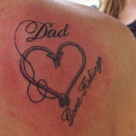 Afbeeldingsresultaat voor dad memorial tattoos for daughters