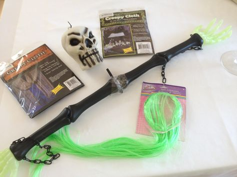 Dollar Store Hanging Ghoul Craft #2 Supplies Halloween Deco Crafts