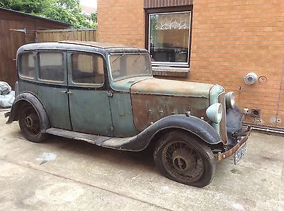 AUSTIN 12 4 1935 ASCOT SALOON FOR RESTORATION CLASSIC CAR BARN FIND GARAGE In Cars Motorcycles Vehicles Classic Austin