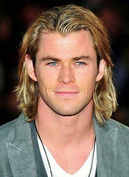 23 Men Long Blonde Hair Color Hairstyle Fix Chris Hemsworth Hair Long Hair Styles Men Mens Hairstyles