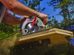 Porter Cable 7 1 4 In 15 Amp Corded Circular Saw With Steel Shoe At Lowes Com Porter Cable Circular Saw Circular