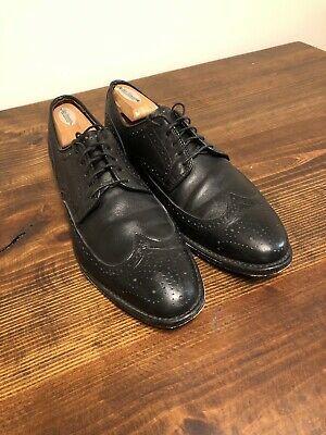 buy online cdb1c 4f6b3 Allen Edmonds 'Stuttgart' Wingtip Blucher Black Leather Shoe ...