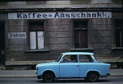 Kaffee-Ausschank.