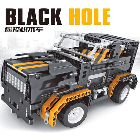Free Shipping Rc Blocks Truck Car Model 8001 Black Hole 4 Ch