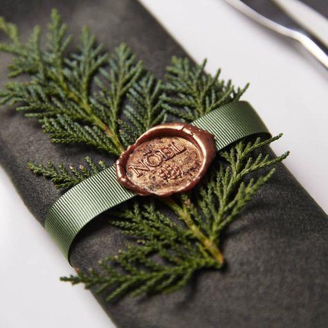 Noël Christmas Wax Seal Stamp