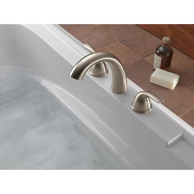 Delta Stainless Steel Roman Tub Faucet