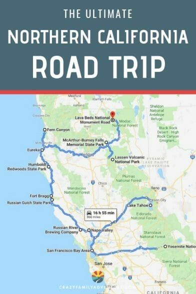 Caves In California Map 12 Epic Things To Do In Northern California [Map Included] (With