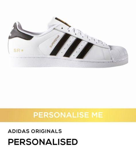 adidas superstar personalised