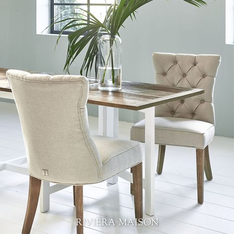 Riviera Maison Stoelen.The Balmoral Dining Chair Is A Classic Model With A Straight Seat