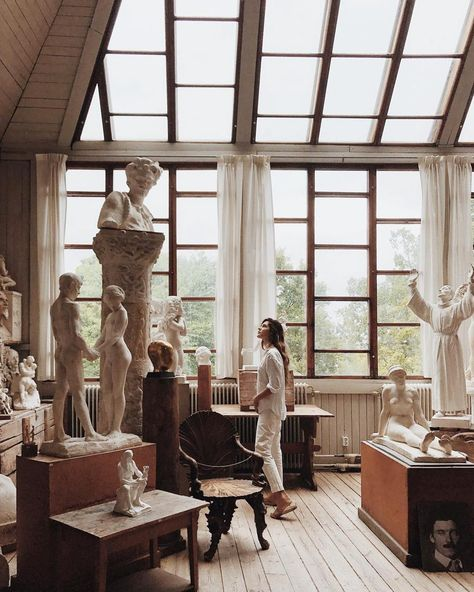 A Complete Scandi Lover Guide to Stockholm - The Venue Report - . - A Complete Scandi Lover Guide to Stockholm – The Venue Report – - Sculpture Romaine, Oeuvre D'art, Art Studios, Architecture, Light In The Dark, Statues, Art Museum, Places, Pictures