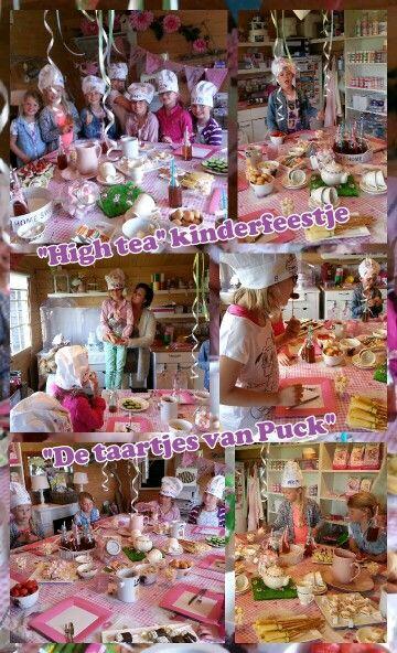 Fonkelnieuw De 77 beste afbeeldingen van High tea kinderfeestje GM-64