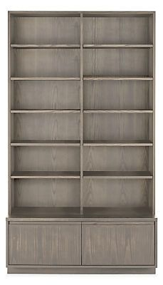 Keaton Bookcase With File Drawers Modern File Storage Cabinets Modern Office Furniture Office Furniture Modern Modern Shelving Modern Bookcase